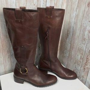 Franco Sarto 7.5 chocolate brown tall riding boots